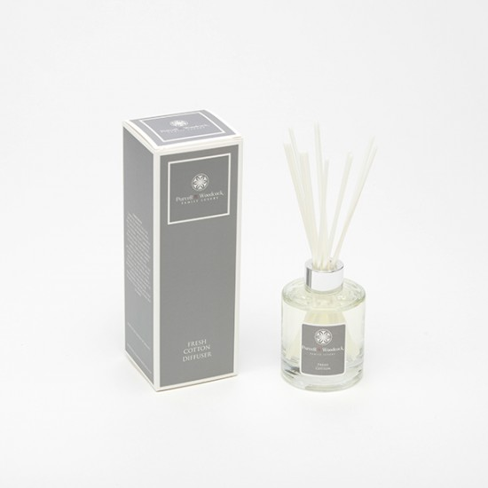 Purcell & Woodcock Luxury Diffuser:  Fresh Cotton (120ml)