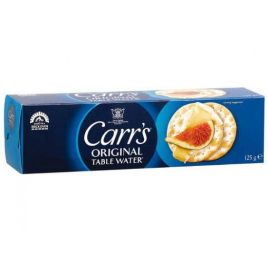 Carrs Table Water Biscuit 125g
