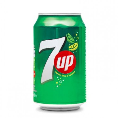 7Up Can 330ml x 6 pack
