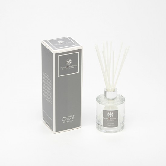 Purcell & Woodcock Luxury Diffuser:  Lavender & Patchouli (120ml)