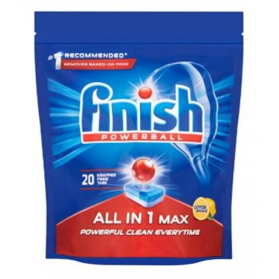 Finish Lemon All In One Tablets 25pce