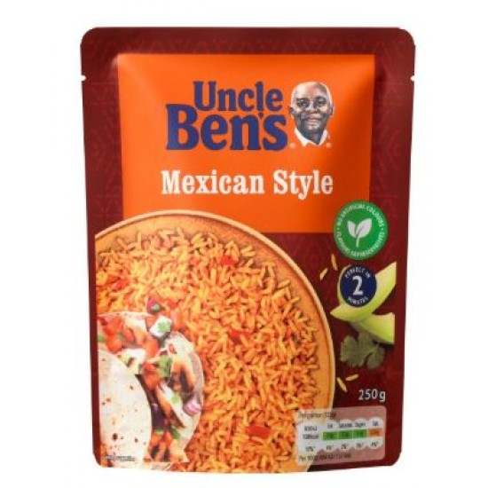 Uncle Bens Express Mexican Rice 250g