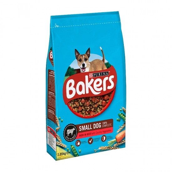 Bakers Small Dog Beef And Vegetable 1.1kg