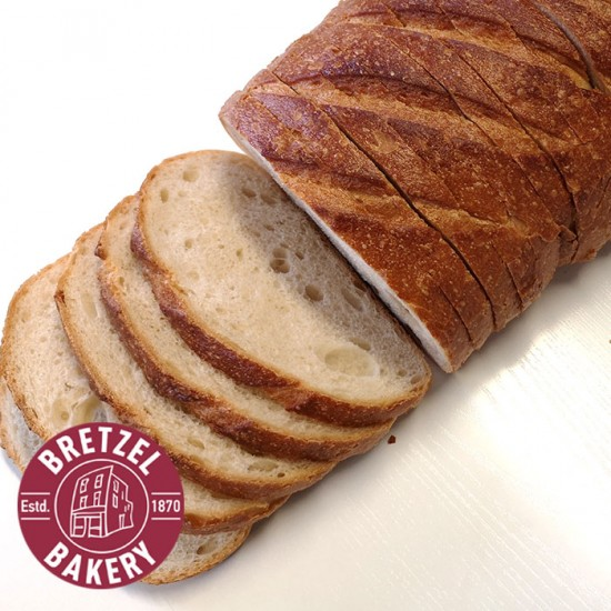 Bretzel Sour Dough Loaf Sliced