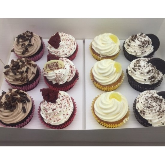 Assorted Cupcakes 12 Pack