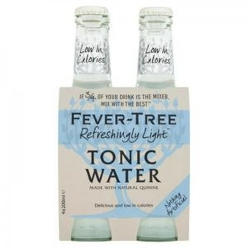 Fever Tree Light Tonic Water 200ml x 4