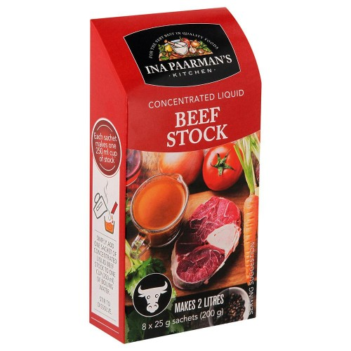Ina Paarman Beef Concentrated Liquid Stock