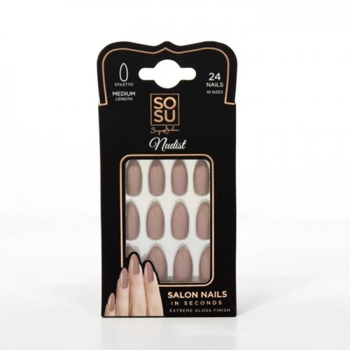 SOSU False Nails - Nudist