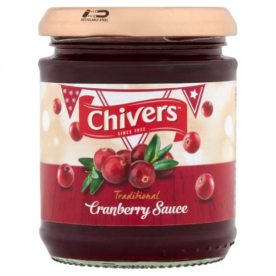 Chivers Traditional Cranberry Sauce 220g