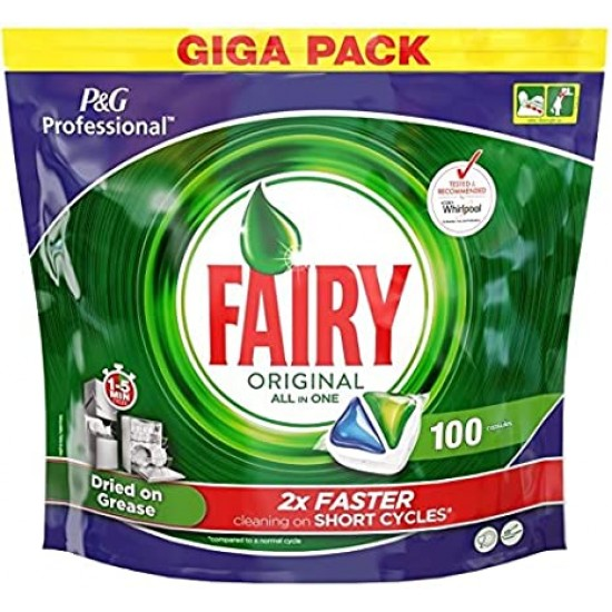 Fairy Original All in One - 100 Washes