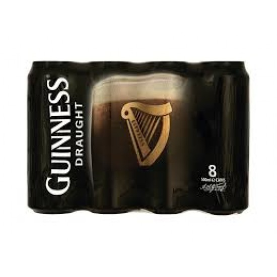 Guinness Draught Can - 8 Pack